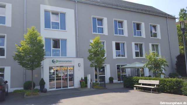 Betreuungshaus Wagner am Kurpark Morsbach Eingangsbereich