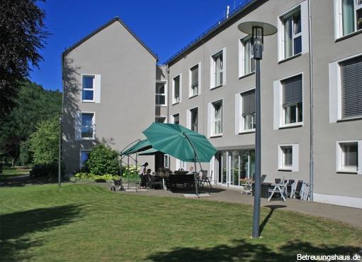 Betreuungshaus Wagner am Kurpark Morsbach Garten